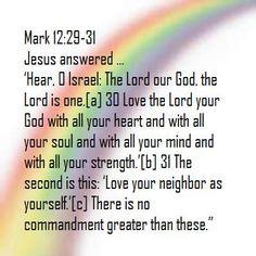 Mark 12 30 31