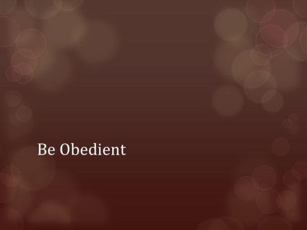 maroon obedience